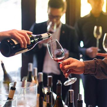 Vins et champagne à Paris